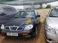 Bán xe Daewoo Leganza đời 2002, màu đen, xe một đời chủ