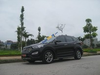 Bán Hyundai Santa Fe CRDi năm 2015, màu đen, nhập khẩu nguyên chiếc số tự động