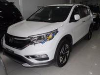 Cần bán lại xe Honda CR V 2.4 AT sản xuất năm 2016, màu trắng