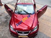 Bán Lexus IS 250C đời 2010, màu đỏ, xe nhập số tự động