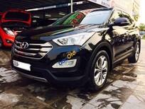 Bán Hyundai Santa Fe CRDI sản xuất năm 2015, màu đen như mới