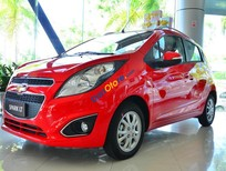 Bán xe Chevrolet Spark LT màu đỏ, trả góp ngân hàng, giao tận nơi - LH: 090 102 7 102 Ms Huyền