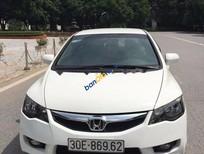 Cần bán Honda Civic 1.8 AT đời 2012, màu trắng, giá tốt