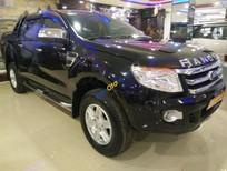 Xe Ford Ranger XLT 2.2L 4x4 MT năm sản xuất 2012, màu đen