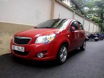 Cần bán lại xe Daewoo GentraX SX 1.2 AT năm 2010, màu đỏ, xe còn rất mới, máy rất êm
