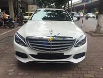 Bán Mercedes C250 đời 2015, màu trắng số tự động