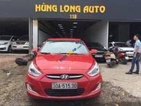 Bán xe Hyundai Accent 1.4 AT sản xuất 2015, màu đỏ, nhập khẩu, xe đẹp