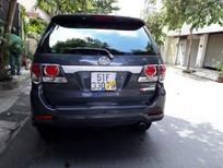 Bán ô tô Toyota Fortuner G sản xuất 2015, màu xám, BS TP