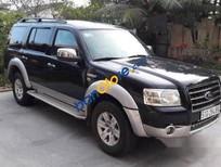 Cần bán Ford Everest MT đời 2008, màu đen chính chủ, giá tốt
