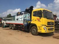 Xe Dongfeng, Howo, Faw gắn cẩu tự hành 3-5 tấn, 7 tấn, 8-10 tấn, 12-15 tấn Soosan, tanado, Kanglim, Unic, màu vàng, nhập khẩu