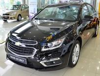 Cần bán Chevrolet Cruze LTZ sản xuất 2017, màu đen, giá chỉ 699 triệu