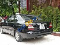 Bán Daewoo Leganza đời 2002, màu đen, máy gầm chất, keo chỉ zin