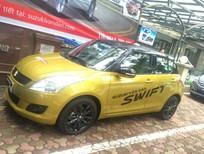 Cần bán Suzuki Swift đời 2017, hai màu vàng đen pha trộn