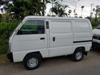 Bán Suzuki Blind Van,suzuki tải cóc đời 2018, màu trắng giá ưu đãi