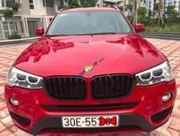 Cần bán xe BMW X3 xDrive20i năm 2016, màu đỏ, nhập khẩu như mới
