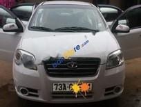 Cần bán lại xe Daewoo Gentra SX 1.5 MT năm 2009, màu trắng