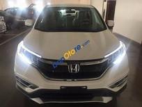 Cần bán Honda CR V năm sản xuất 2016, màu trắng