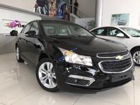 Bán ô tô Chevrolet Cruze LT 1.6MT năm sản xuất 2017, màu đen