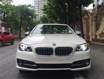 Việt Nhật Auto bán xe BMW 520i model 2015, màu Trắng nội thất kem.