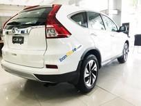 Cần bán Honda CR V 2.4 AT đời 2017, màu trắng