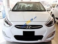 Bán xe Hyundai Accent 1.4AT sản xuất năm 2017, màu trắng giá cạnh tranh