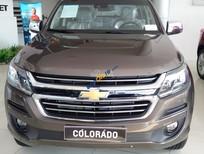 Bán Chevrolet Colorado 2.8AT 4x4 sản xuất năm 2017, màu nâu, nhập khẩu nguyên chiếc
