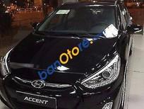 Bán ô tô Hyundai Accent sản xuất năm 2017, màu đen, giá tốt