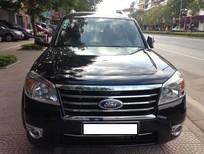 Cần bán gấp Ford Everest 2.5 AT Limited đời 2010, màu đen, số tự động