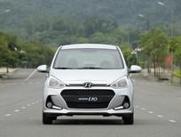 Bán Hyundai Grand i10 đời 2017, màu bạc, 360tr