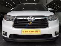 Cần bán xe Toyota Highlander LE đời 2015, màu trắng, xe nhập