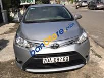 Cần bán xe Toyota Vios E đời 2015, màu bạc
