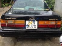 Cần bán lại xe Audi 200 đời 1989, màu đen