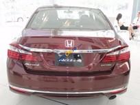 Cần bán xe Honda Accord 2.4 AT sản xuất năm 2017, màu đỏ, nhập khẩu nguyên chiếc