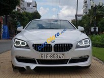 Cần bán lại xe BMW 6 Series 640 đời 2012, màu trắng