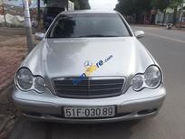 Bán Mercedes C180 đời 2002, màu bạc, xe nhập, 235tr