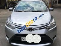 Cần bán gấp Toyota Vios E đời 2014, màu bạc xe gia đình
