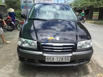 Bán Hyundai Trajet sản xuất 2004, màu đen, xe nhập số tự động, giá 320tr