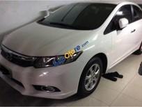 Cần bán gấp Honda Civic sản xuất năm 2014, màu trắng đã đi 31000km