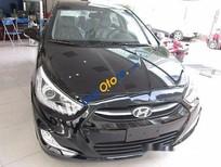 Bán xe Hyundai Accent 1.4AT năm sản xuất 2017, màu đen, 575tr