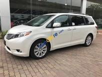 Giao ngay Toyota Sienna Limited 2017 động cơ hoàn toàn mới màu trắng, xe nhập Mỹ. LH 0904927272