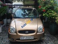 Bán Hyundai Atos đời 2002, màu nâu, xe cũ chạy tốt, bảo dưỡng thường xuyên