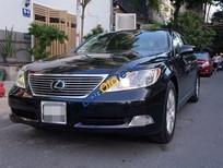 Bán Lexus LS 460L đời 2007, màu đen, nhập khẩu nguyên chiếc