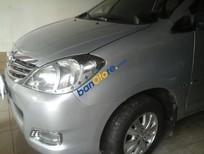 Bán Toyota Innova G năm 2011, màu bạc số sàn