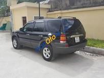 Cần bán lại xe Ford Escape MT 2.0 đời 2003, màu đen