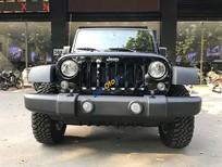 Bán Jeep Wrangler Unlimited năm sản xuất 2017, màu đen, xe nhập