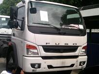 Bán xe tải Fuso FI 12T màu trắng thùng kín, mui bạt, lửng đúng tiêu chuẩn