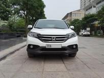 Xe Honda CR V 2.4AT đời 2014, màu trắng, ít sử dụng