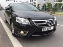 Bán Toyota Camry 2.4G đời 2011, màu đen, 695tr