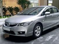 Cần bán gấp Honda Civic 1.8 AT 2010, màu bạc