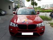 Bán BMW X3 2.0 AT sản xuất năm 2016, màu đỏ, nhập khẩu số tự động